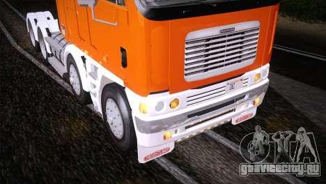 Freightliner Argosy 8x4 для GTA San Andreas вид сбоку