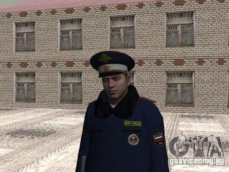 Пак милиционеров в зимней форме для GTA San Andreas четвёртый скриншот
