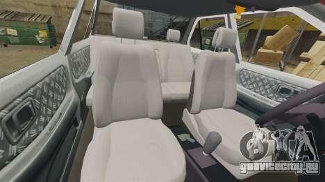 Nissan Tsuru для GTA 4 вид сбоку