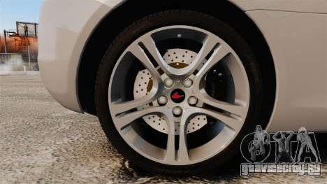 McLaren MP4-12C 2012 [EPM] для GTA 4 вид сзади
