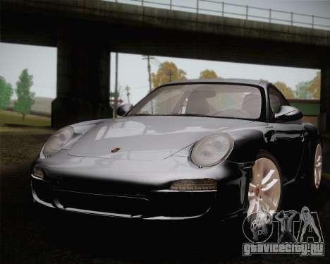 Porsche 911 Carrera для GTA San Andreas вид сбоку