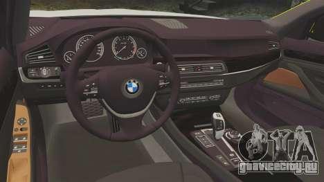 BMW 530d Touring Lancashire Police [ELS] для GTA 4 вид изнутри