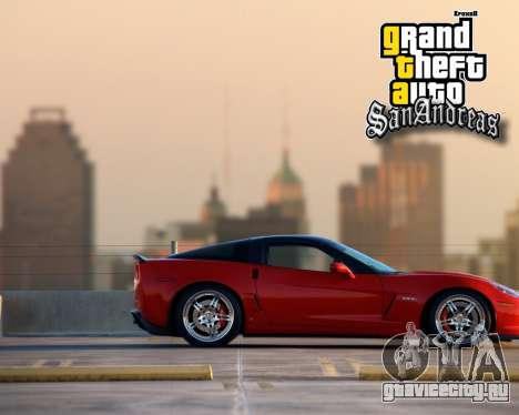 Новые загрузочные экраны для GTA San Andreas шестой скриншот
