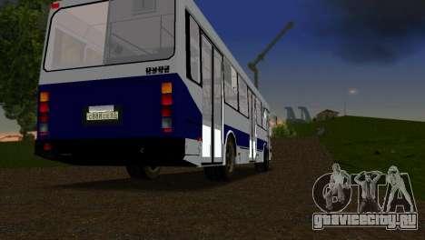 ЛиАЗ-5256 для GTA Vice City вид справа