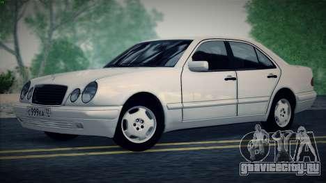 Mercedes-Benz E420 для GTA San Andreas вид справа