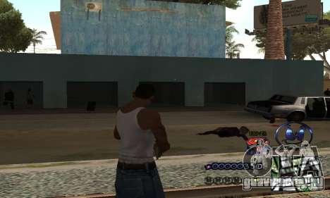 HUD by Anatole для GTA San Andreas второй скриншот