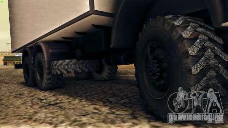 КамАЗ 4310 для GTA San Andreas вид сбоку