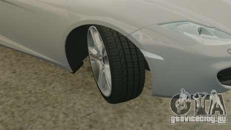 McLaren MP4-12C 2012 [EPM] для GTA 4 вид снизу