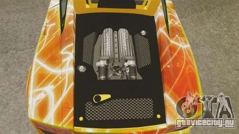 Lamborghini Gallardo 2013 Red Light для GTA 4 вид изнутри