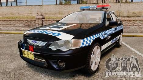 Ford BF Falcon XR6 Turbo Police [ELS] для GTA 4