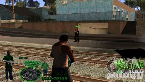 C-HUD Groove by HARDy для GTA San Andreas третий скриншот
