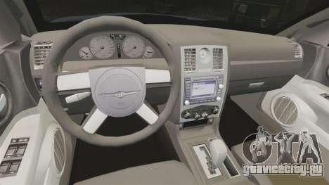 Chrysler 300C SRT8 для GTA 4 вид изнутри