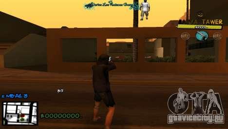C-Hud by Baton Batya для GTA San Andreas