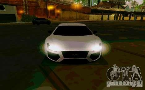 GTA V Obey 9F Version 2 FIXED для GTA San Andreas вид сзади слева