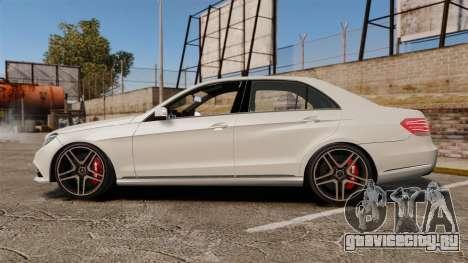 Mercedes-Benz E63 AMG 2014 v2.0 для GTA 4 вид слева