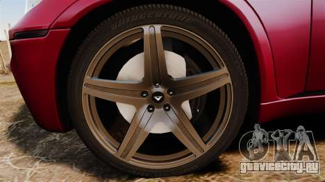 BMW X5M v2.0 для GTA 4 вид сзади