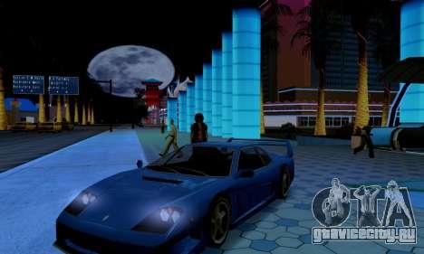 ENB CUDA 2014 for Low PC для GTA San Andreas четвёртый скриншот