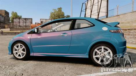 Honda Civic Type R 2007 для GTA 4 вид слева