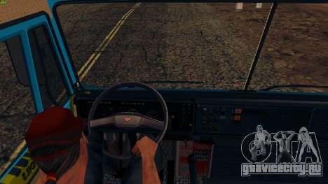 КамАЗ 4310 для GTA San Andreas вид сзади