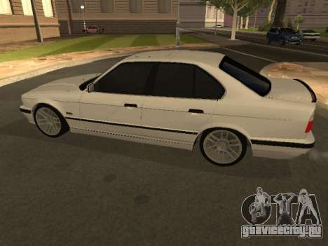 BMW 525 Smotra для GTA San Andreas вид слева