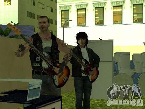 Концерт группы Кино для GTA San Andreas пятый скриншот