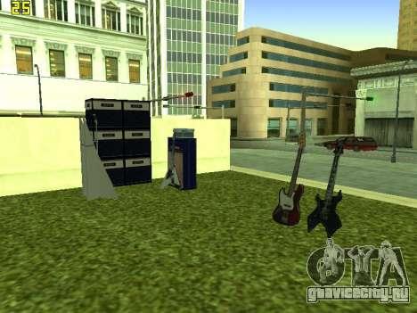 Концерт группы Кино для GTA San Andreas четвёртый скриншот