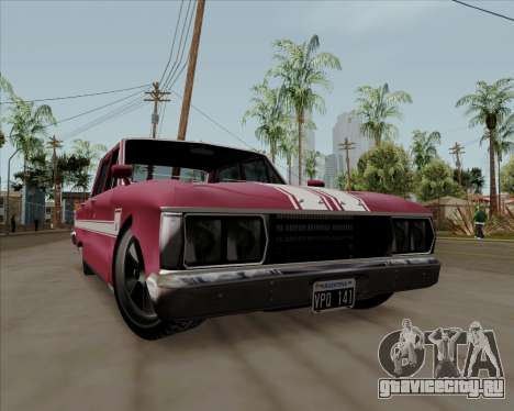 Ford Falcon Sprint 1972 для GTA San Andreas вид слева