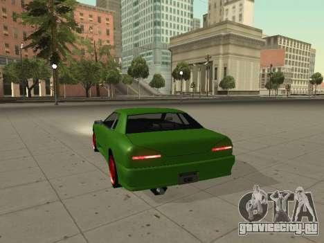 Elegy by X3noNon для GTA San Andreas вид сзади слева