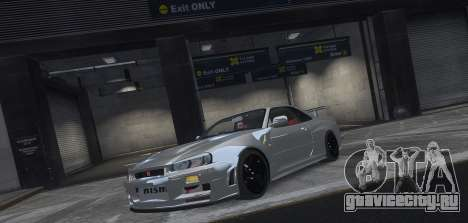 Nissan Skyline GTR-34 Nismo Z-Tune для GTA 4