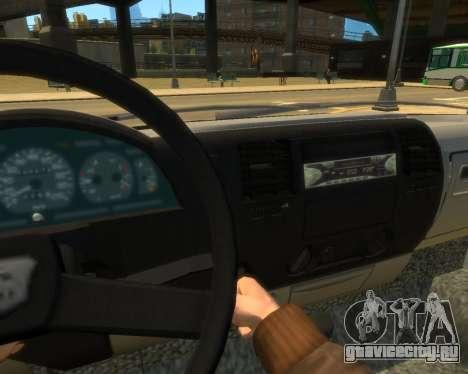 Газель Эвакуатор ДПС для GTA 4 вид справа
