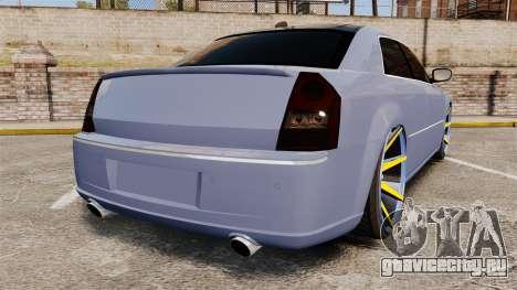 Chrysler 300C SRT8 для GTA 4 вид сзади слева