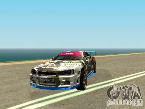 Nissan Skyline Drift для GTA San Andreas