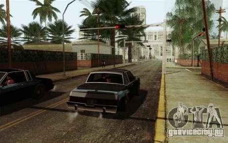 ENB HD CUDA 2014 v2.0 для GTA San Andreas второй скриншот