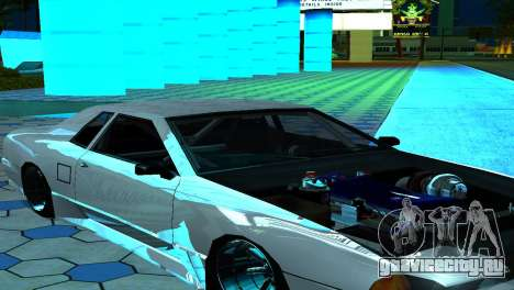 Elegy 280sx v2.0 для GTA San Andreas вид сверху