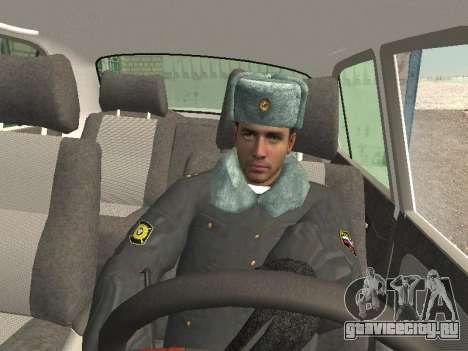 Пак милиционеров в зимней форме для GTA San Andreas шестой скриншот