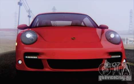 Porsche 911 Turbo для GTA San Andreas колёса