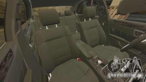 Mercedes-Benz E63 AMG 2014 для GTA 4 вид сбоку