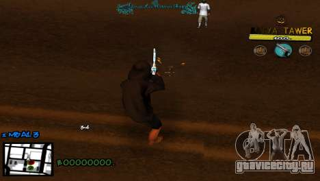 C-Hud by Baton Batya для GTA San Andreas третий скриншот