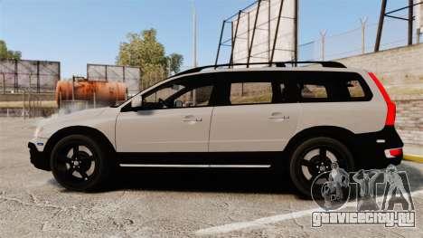 Volvo XC70 2014 Unmarked Police [ELS] для GTA 4