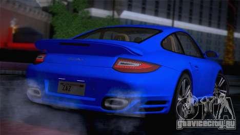 Porsche 911 Turbo Bi-Color для GTA San Andreas вид сзади слева