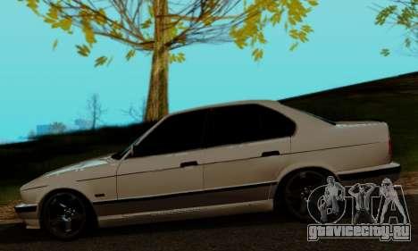 BMW 525 Re-Styling для GTA San Andreas вид сзади слева