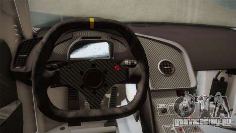 Audi R8 LMS v2.0.4 DR для GTA San Andreas салон