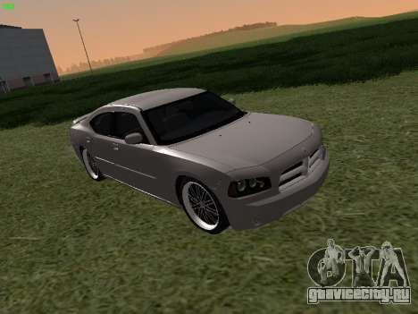 Dodge Charger RT 2008 для GTA San Andreas
