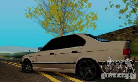 BMW 525 Re-Styling для GTA San Andreas вид справа