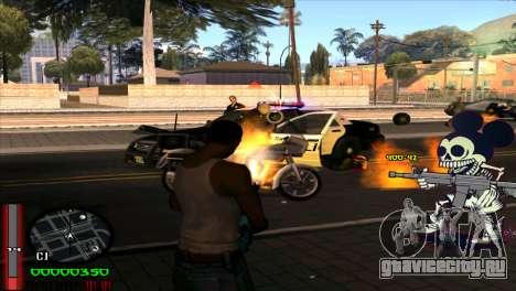 C-Hud Mickey для GTA San Andreas третий скриншот