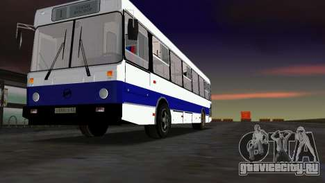ЛиАЗ-5256 для GTA Vice City вид сзади слева