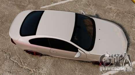 BMW M6 Vossen для GTA 4 вид справа