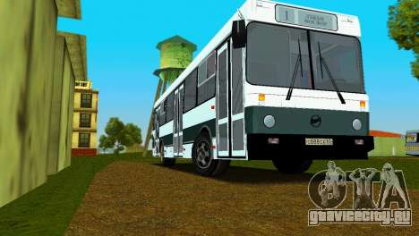 ЛиАЗ-5256 для GTA Vice City двигатель