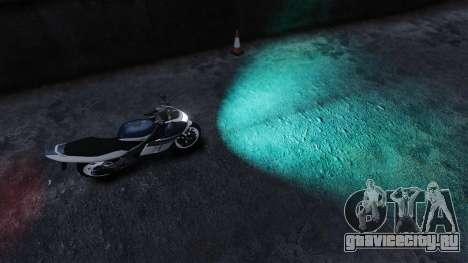 Водяной свет фар для GTA 4 второй скриншот