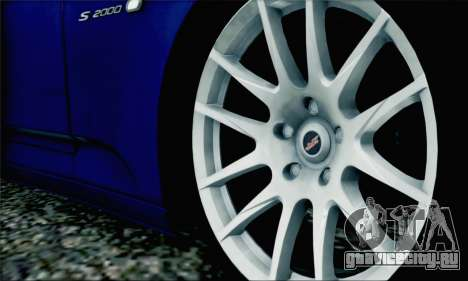 Honda S2000 Daily для GTA San Andreas салон